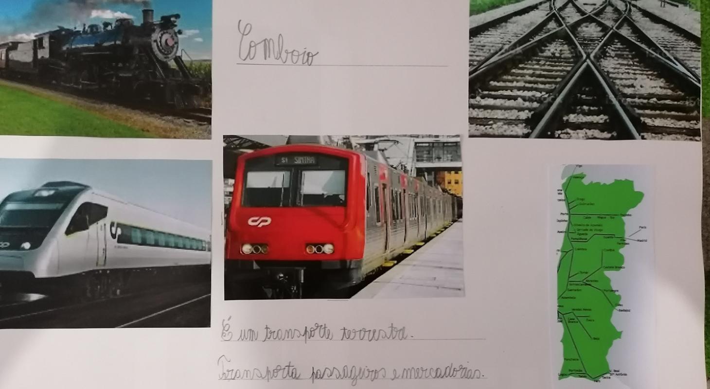CONHECER OS TRANSPORTES